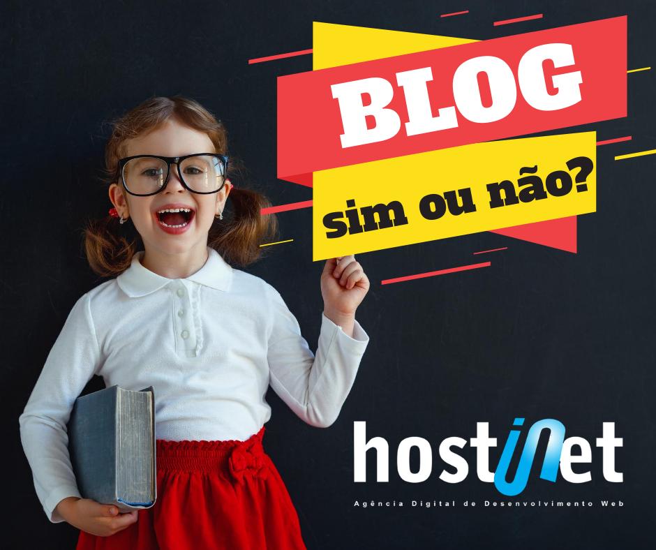 Blog no site: SIM ou NÃO?